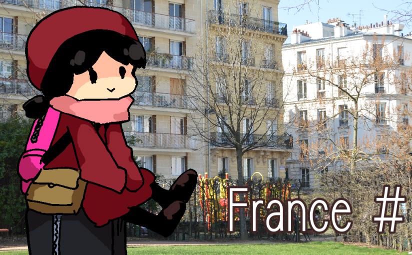フランス一日目