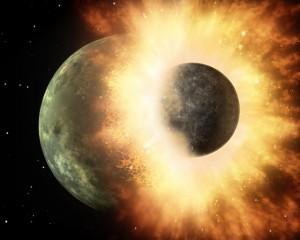 惑星でビリヤードをしてブラックホールに惑星を入れるゲームのイメージ図